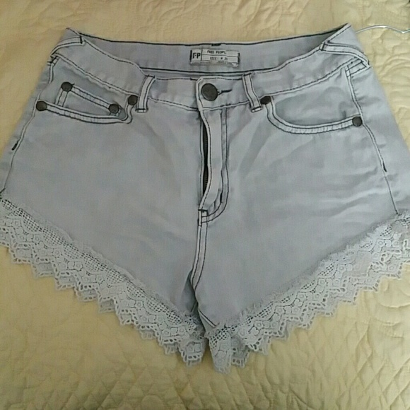 Free People Pants - Free people lace shorts